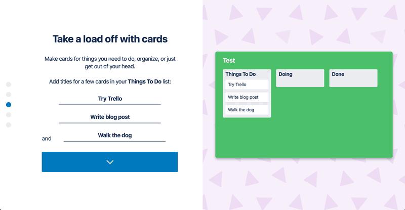 Adding cards to Trello lists