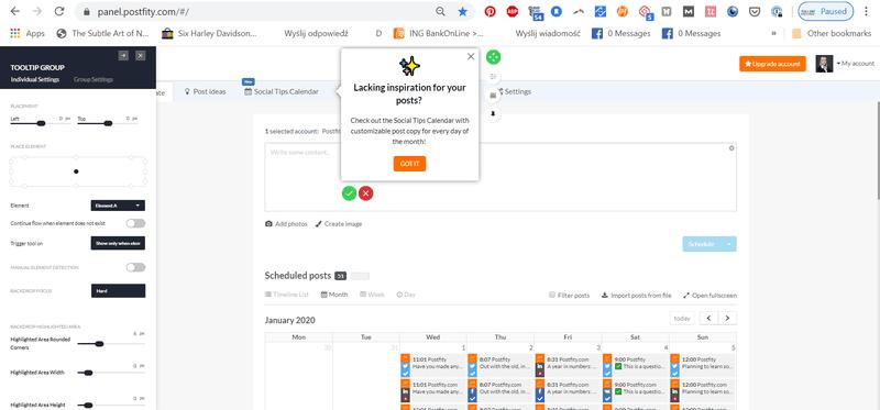 Userpilot walkthrough software