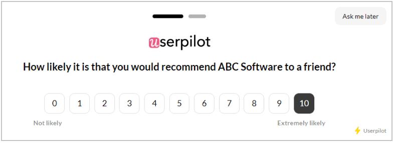 userpilot nps