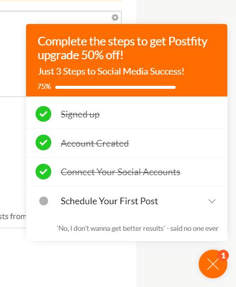 Postfity Checklist