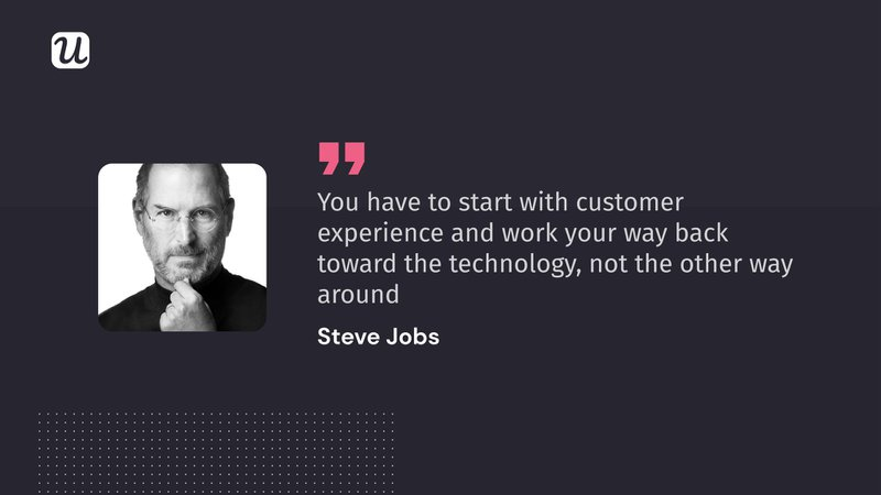 steve jobs customer experience