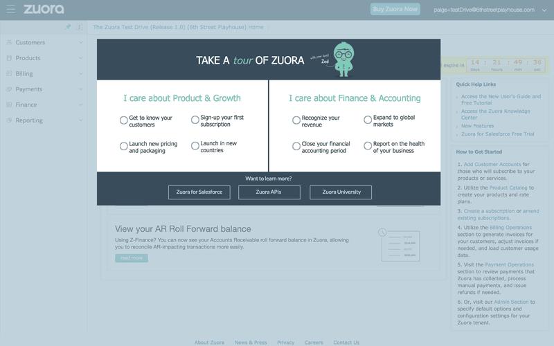 zuora user adoption strategy