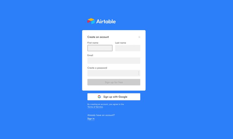 user onboarding best practices airtable