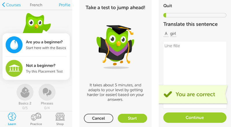 user onboarding best practices duolingo