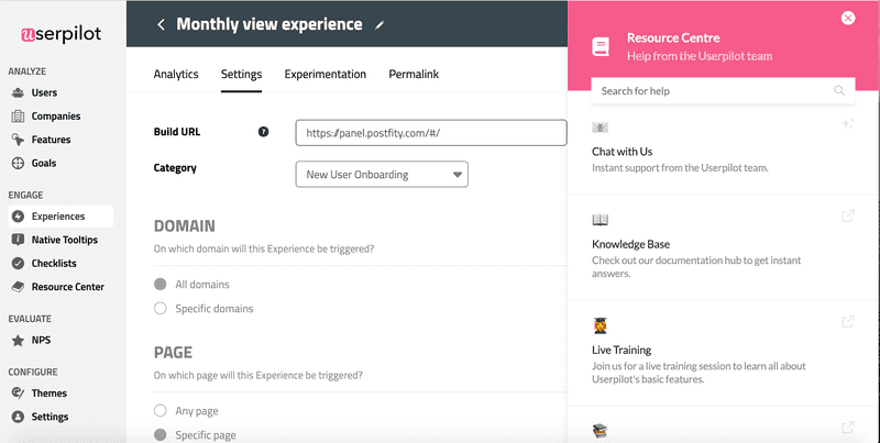 best onboarding software for SaaS customer support functionality