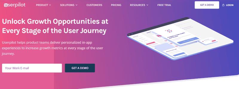 Userpilot best onboarding software for SaaS