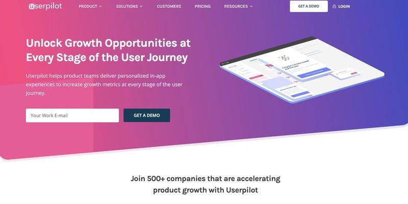 Userpilot Product Growth Tool