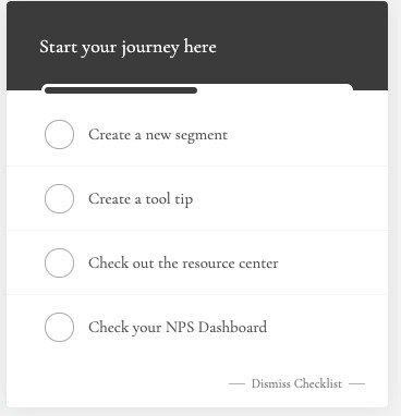 userpilot checklists