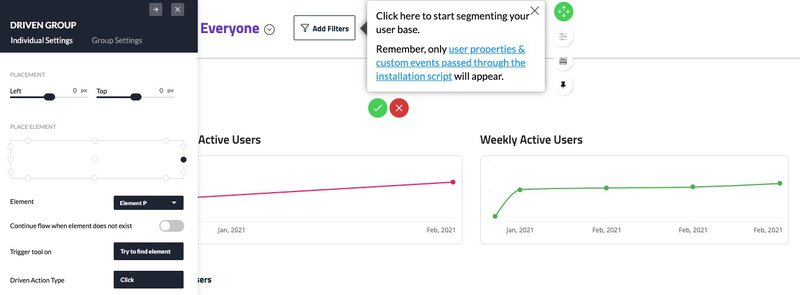 userpilot tool tips free trial vs paid trial