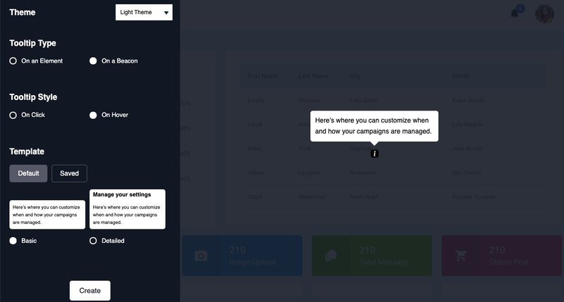 Customize tooltips in Userpilot