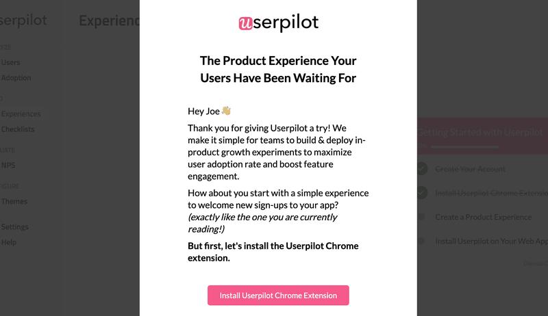 UserPilot drives feature adoption