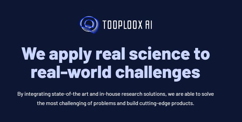 Artificial Intelligence @ Tooploox