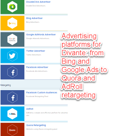 Advertising platforms