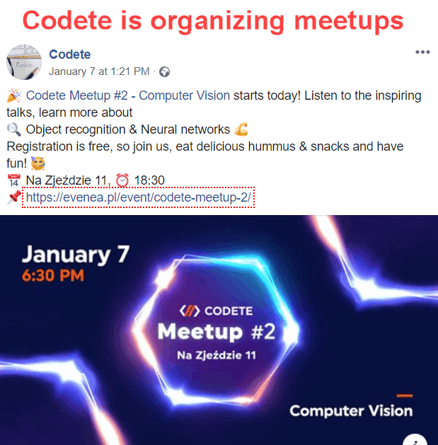 Meetups by Codete