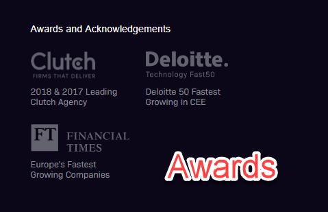 10Clouds awards