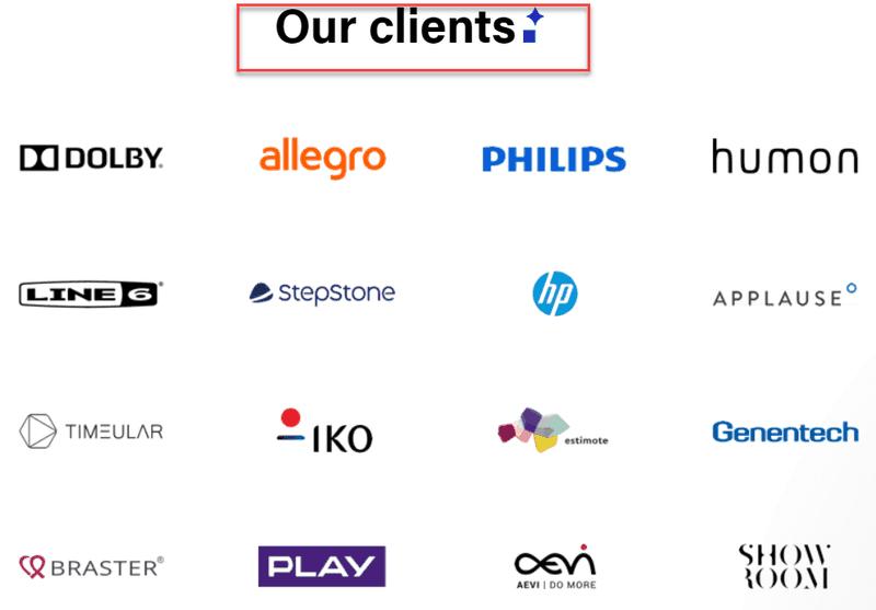 Polidea clients
