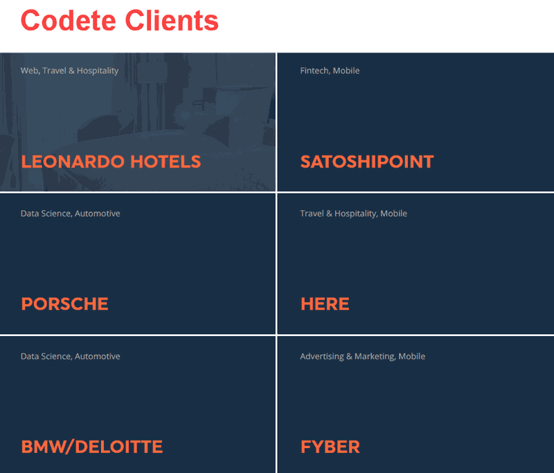 Codete's clients