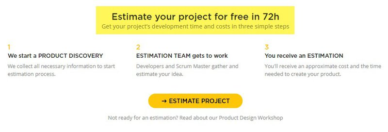 Estimate project - CTA