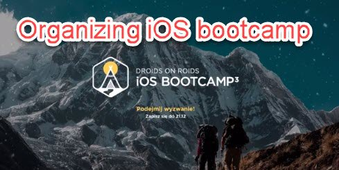 Bootcamp organizing