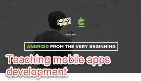 Teaching mobile app development