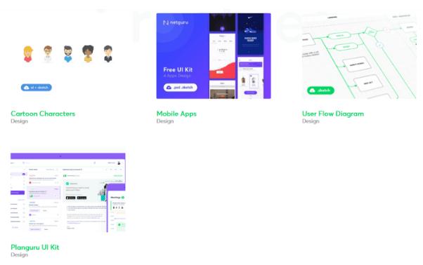 Netguru's Git projects