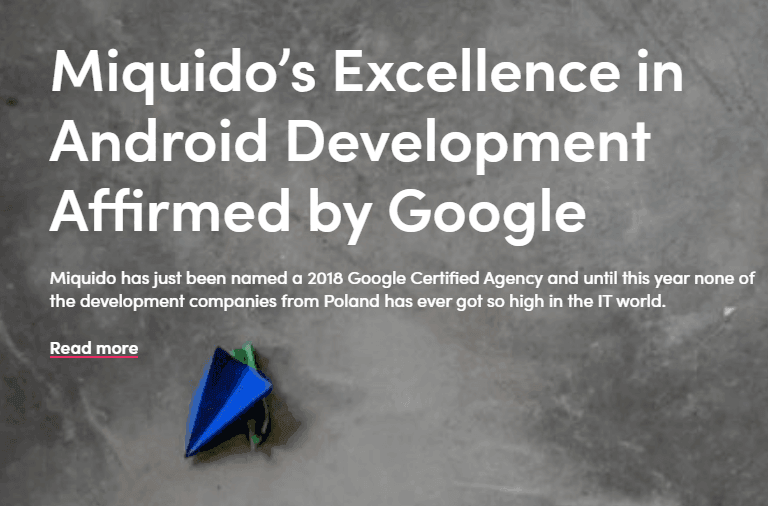Google Certified App Developers