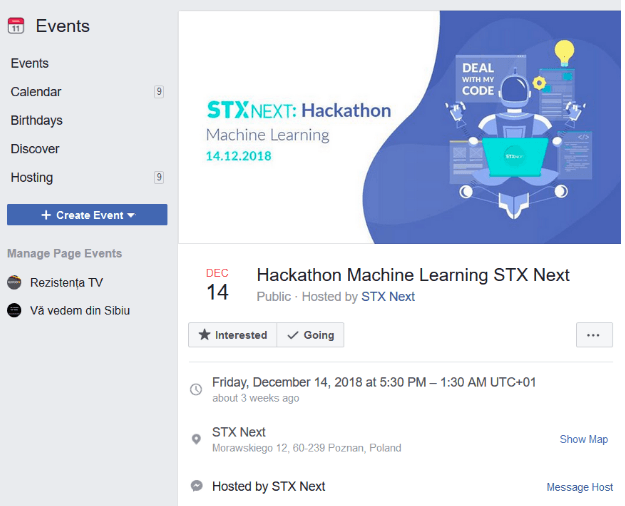 STX Next machine learning hackathon