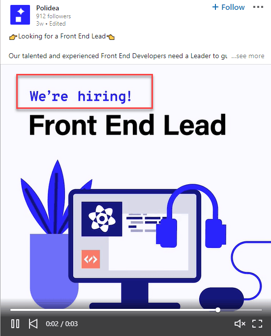 posts on hiring
