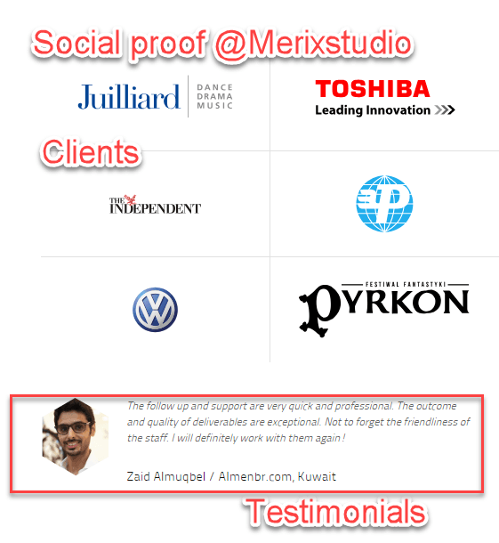 World-class clients