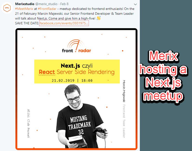 Organizing meetups