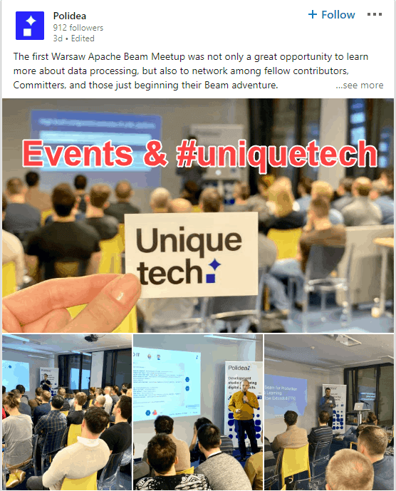 events on LinkedIn