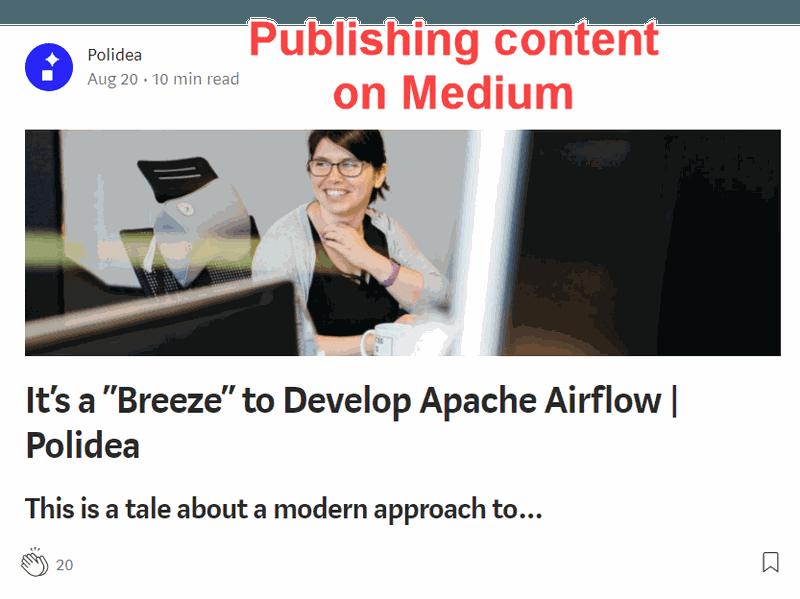 Content on Medium