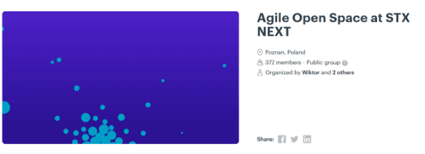 STX Next Agile meetup