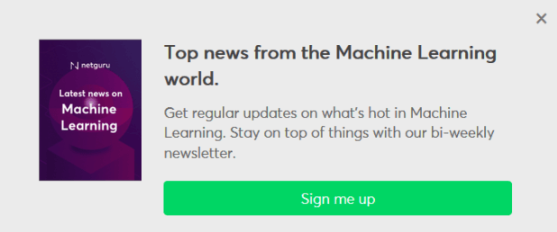 Netguru's machine learning newsletter