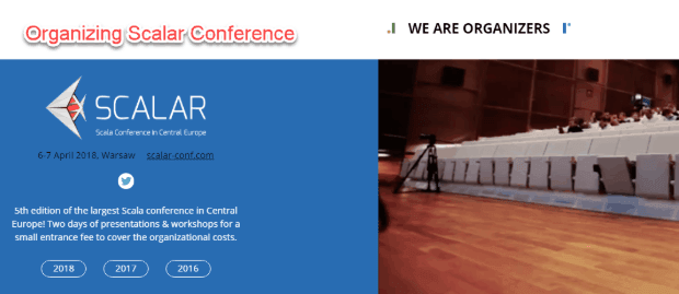 SoftwareMill organizes Scalar Conference