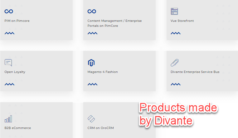 products by Divante