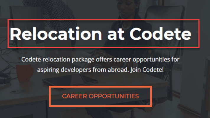 Codete relocation