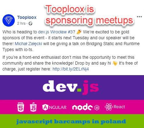 Sponsoring Meetups
