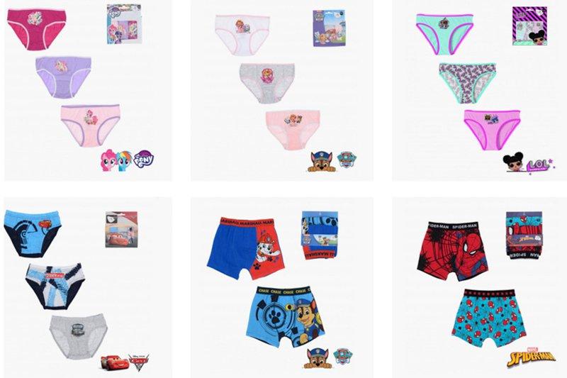 erve.shop licensed wholesale clothing | underwear for kids