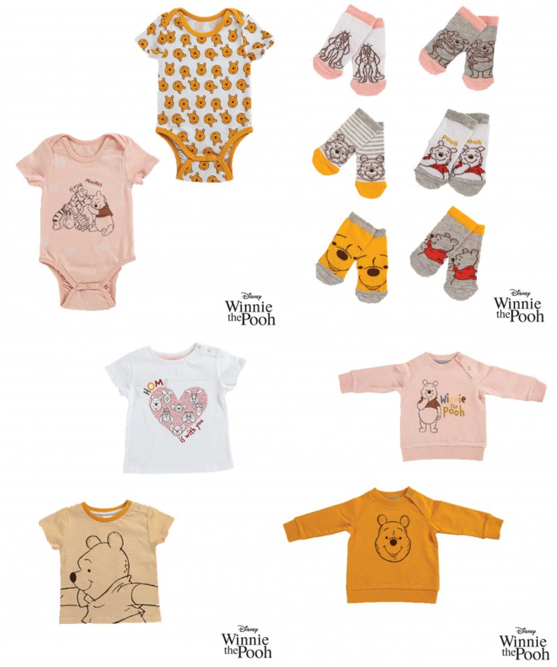 Erve Shop capsule collection Winnie the Pooh - products