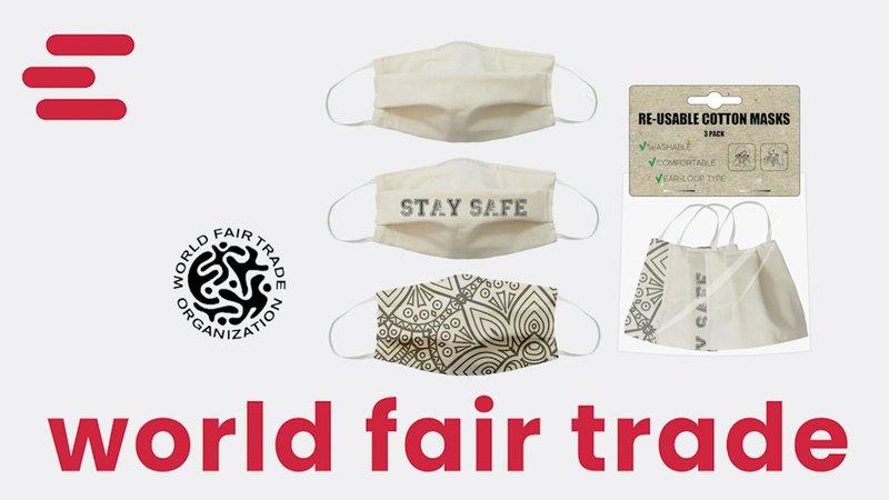 World Fair Trade Face Masks