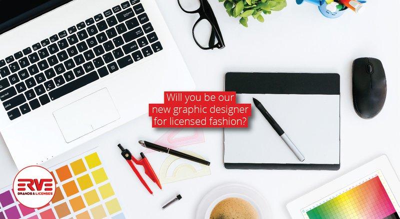 Erve Europe Graphic Designer Licensed Fashion