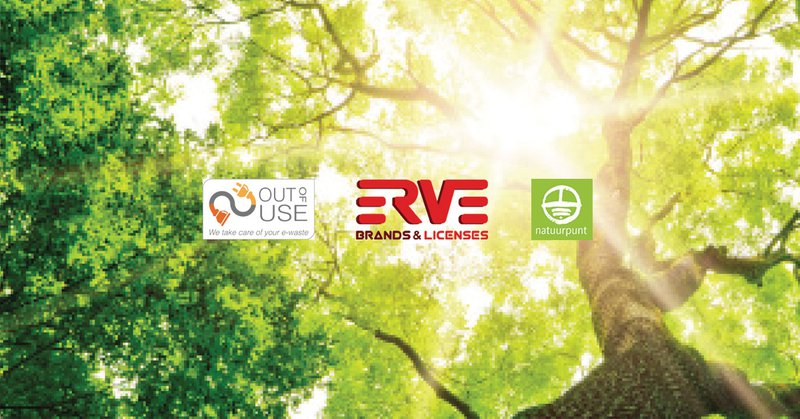 erve europe loves nature - recycling efforts - e-waste