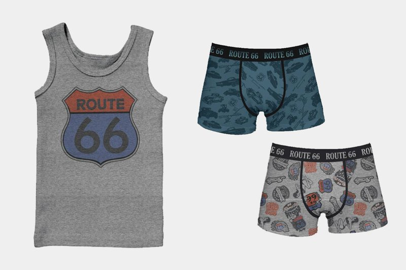 Erve Europe, ROUTE 66 underwear and socks