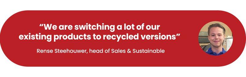Rense Steehouwer, Sales & Sustainable