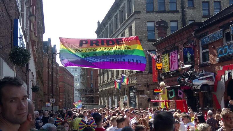 Manchester Pride 2019 Canal Street Party