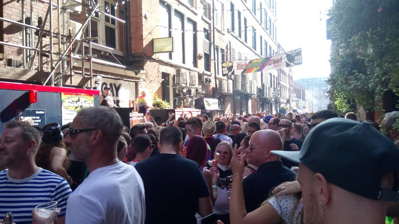 Canal Street Party Manchester Pride 2019