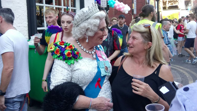 Queen at Manchester Pride