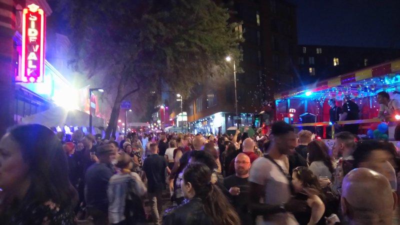 Birmingham Pride Hurst Street Party