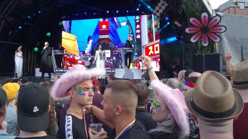 Birmingham Pride Human League